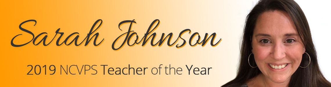 Sarah Johnson, 2019 TOY