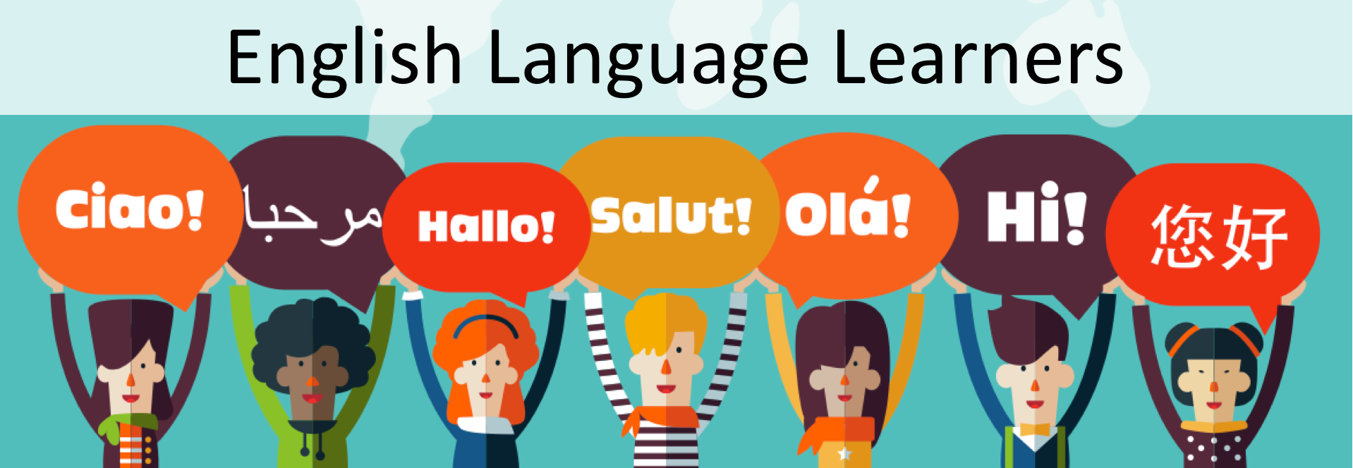 English Language Learners Banner
