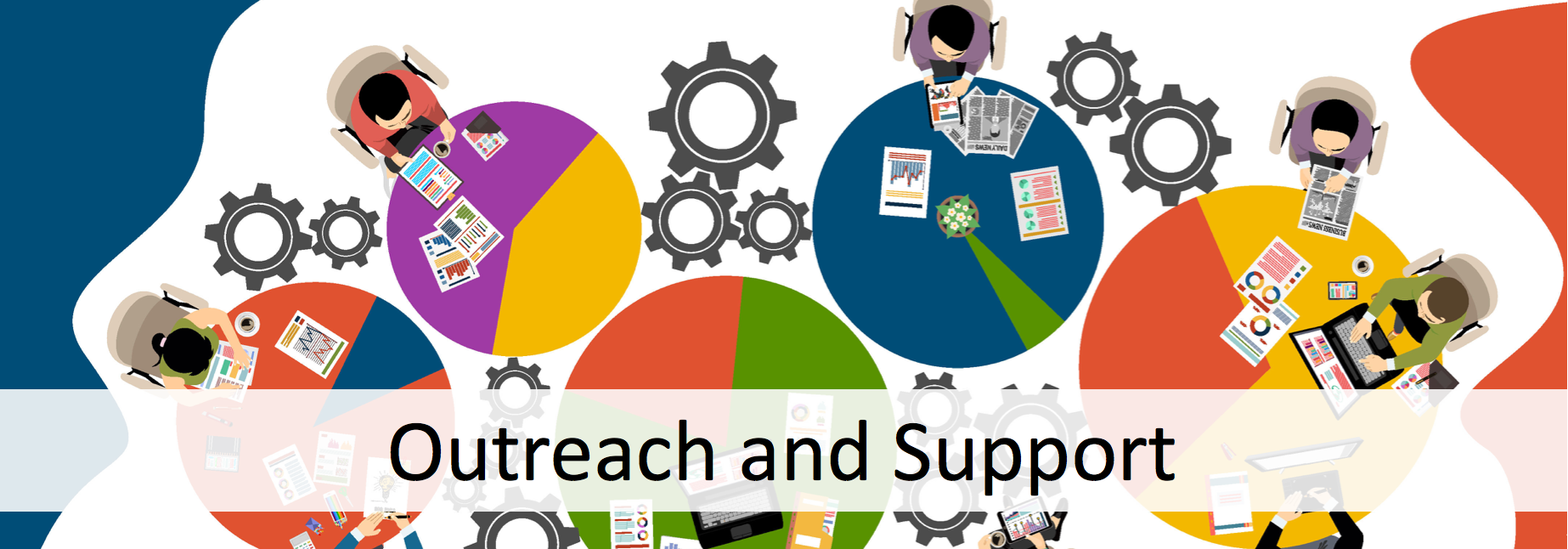 Outreach and Support Banner