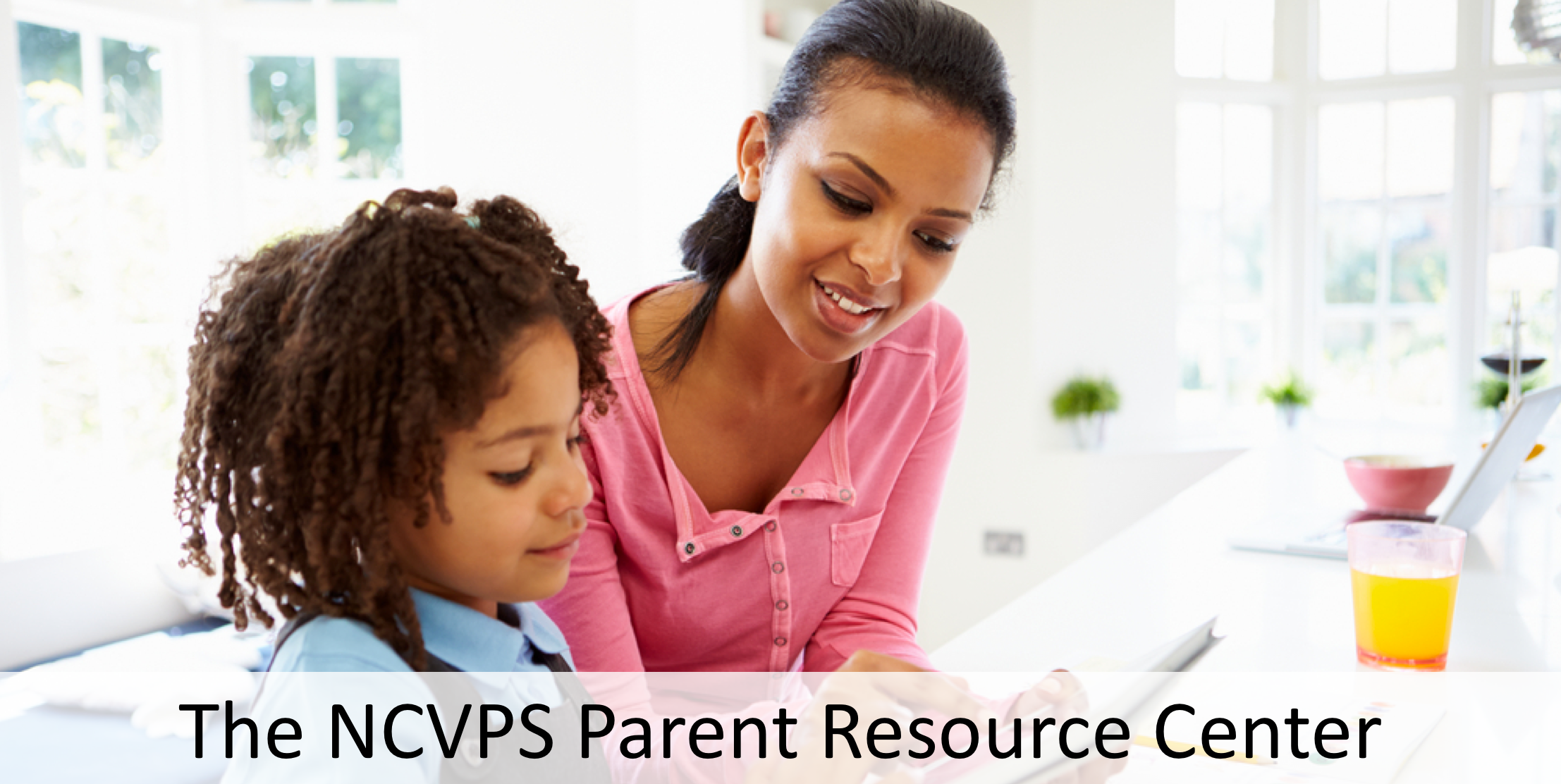 Parent Resource Center Banner