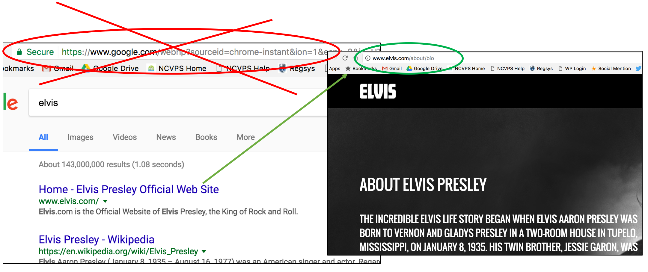 Don't use google.com as your source. Use the link in the actual article.