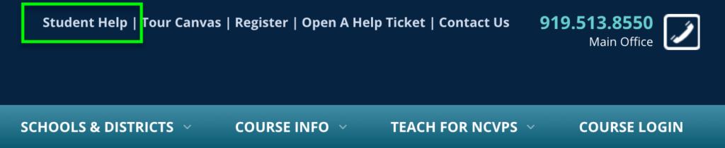 help on website