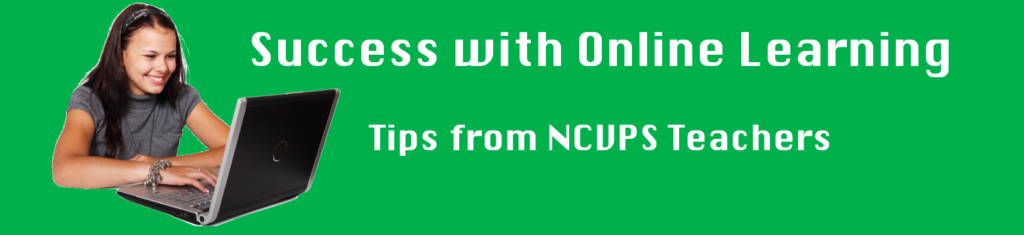 online learning success banner