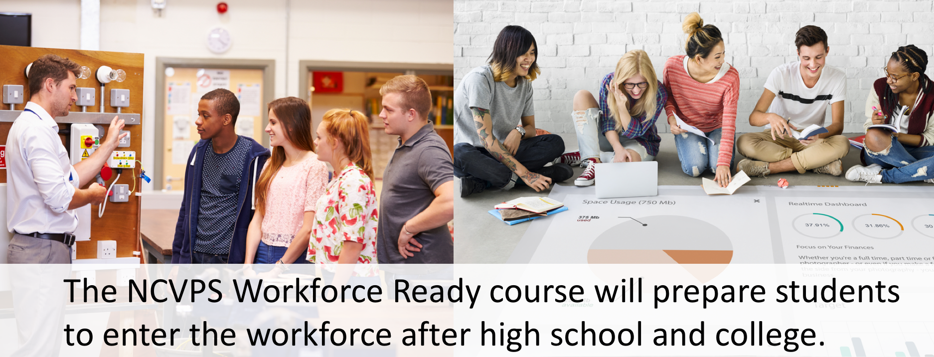The NCVPS Workforce Ready course will prepare students to enter the workforce after high school and college.