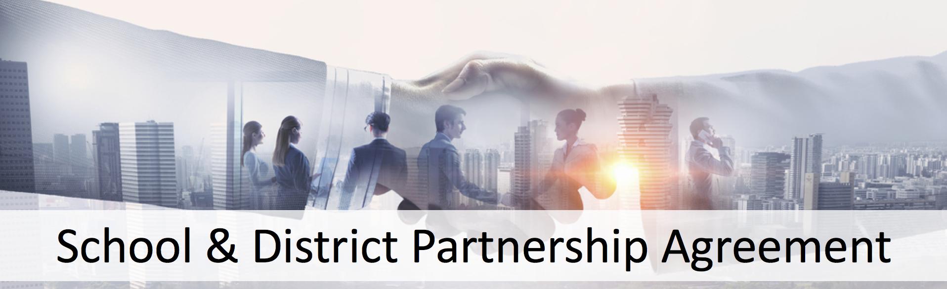 partnership agreement banner